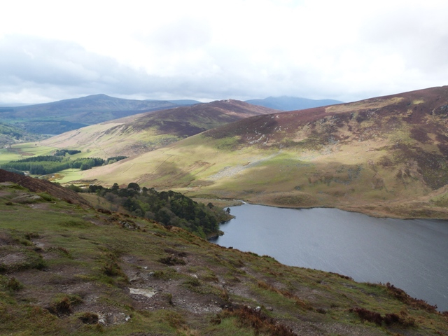 Guinness Lake in den Wicklow Mountains