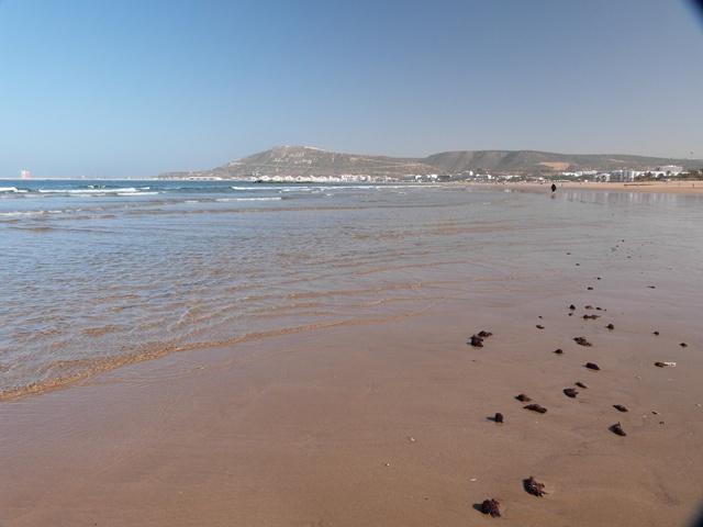 Der Strand von Agadir