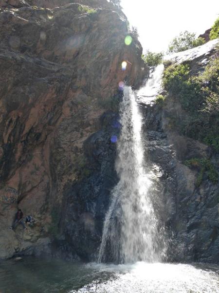 Die Wasserfälle im Ourika-Tal