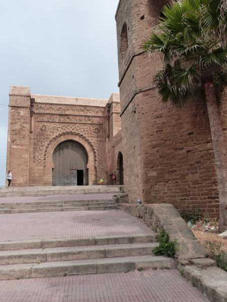 Das Tor der Oudaia-Kasbah - Bab Oudaia