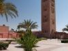 Die Koutoubia-Moschee in Marrakesch