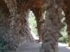 Organische Säulen im Park Güell