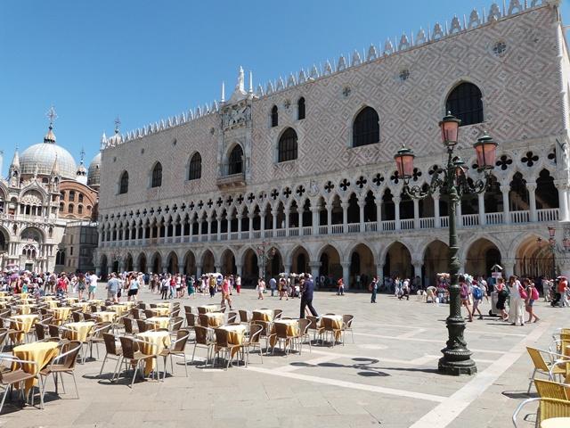 Dogenpalast auf dem Markusplatz